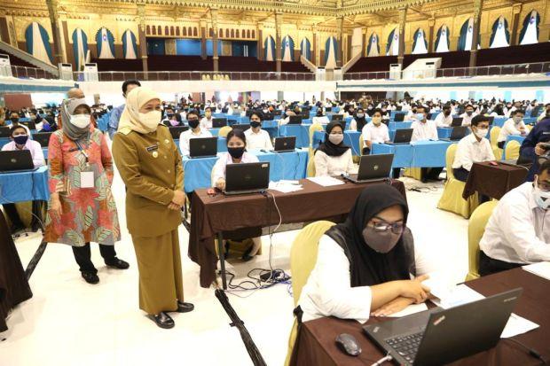 25.563 Orang Adu Nasib Menjadi CPNS dan PPPK Pemprov Jawa Timur