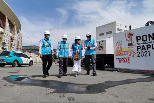 PLN Gelontorkan Rp313 Miliar Dukung Penyelenggaraan PON XX Papua