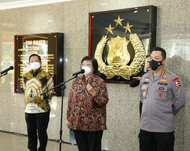 Menteri KLHK: Karhutla Sumbang Emisi Gas Rumah Kaca Terbesar di Indonesia