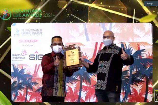 Pertamina Patra Niaga Regional Sulawesi Raih Dua Penghargaan CSR
