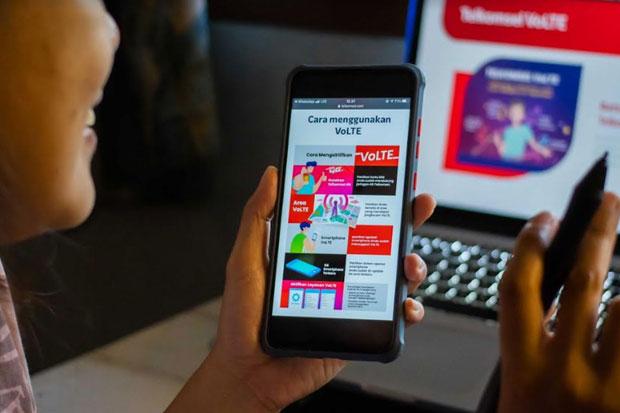Layanan VoLTE Telkomsel Sudah Menjangkau 219 Kota