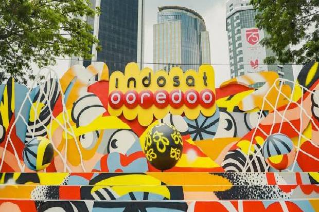 Hallo! Usai Merger Harga Saham Indosat Naik ke Rp7.300