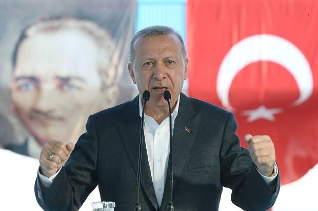 Rusak Mata Uang Turki, Presiden Erdogan Nyatakan Perang Melawan Kripto