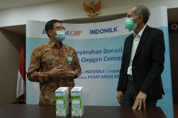 Indofood Serahkan 100 Unit Oksigen Concentrator ke Pusat Krisis Kesehatan