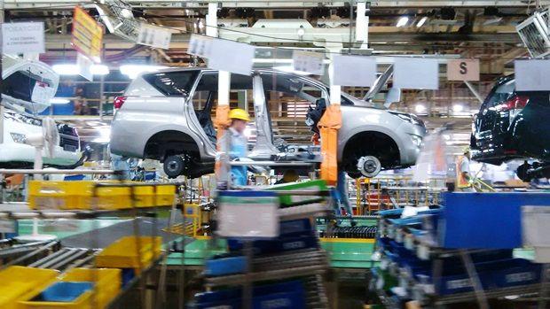 Jumlah Pabrik Komponen Mobil di Indonesia Kalah Jauh dari Thailand