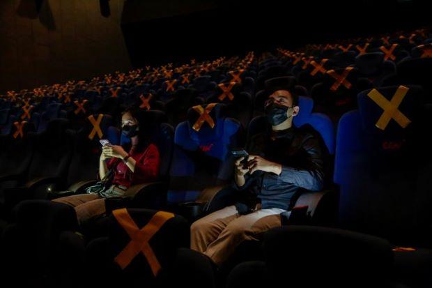 Masuk Bioskop Kini Tak Harus Vaksin 2 Kali, Kategori Kuning Boleh Masuk