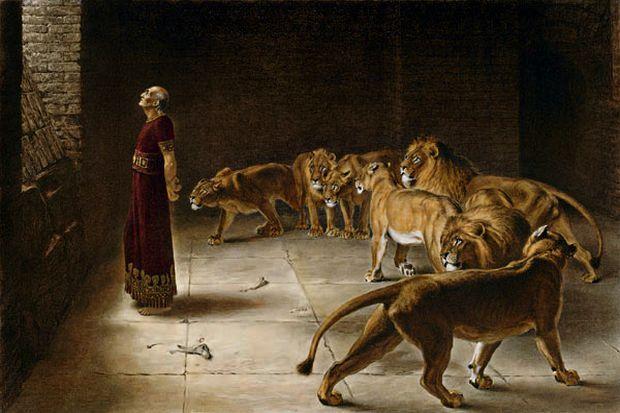 Kisah Nabi Daniel Dilempar ke Kandang Singa