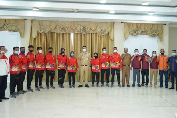 Bupati Pangkep Lepas Atlet dan Pelatih Betanding di PON Papua