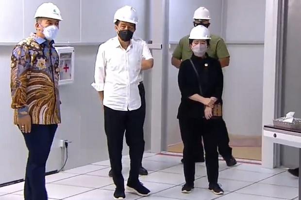 Jokowi Resmikan Pabrik Hot Strip Mill 2 Krakatau Steel: Sedot Investasi Rp7,5 Triliun
