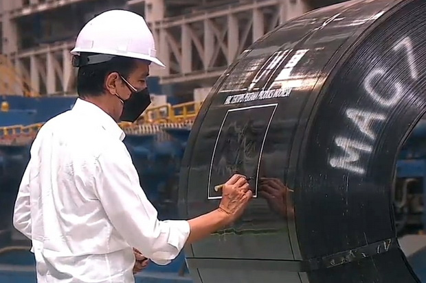 Jokowi: PT Krakatau Steel Sudah Semakin Sehat