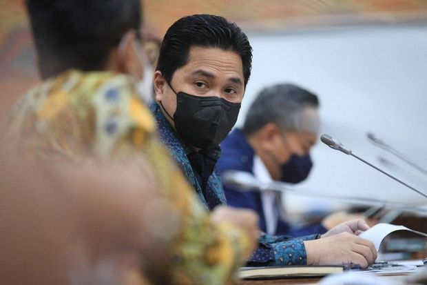 Di Depan Jokowi, Erick Thohir Beberkan Cara Peroleh Valuasi Pertamina Rp1.419 Triliun