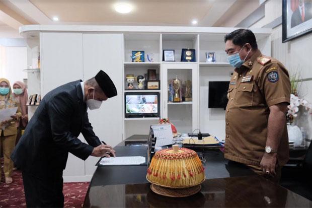 Abdul Hayat Lantik Pejabat Fungsional Lingkup Pemprov Sulsel