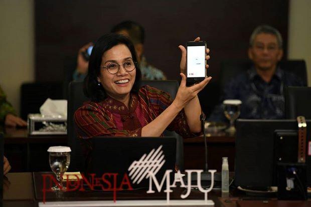 Datang ke DPR, Sri Mulyani Minta Anggaran Rp44 Triliun