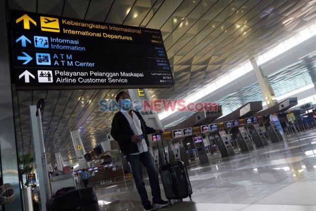 3 Hari Pintu Penerbangan Asing Dibuka, Ribuan Orang Masuk RI lewat Bandara Soetta