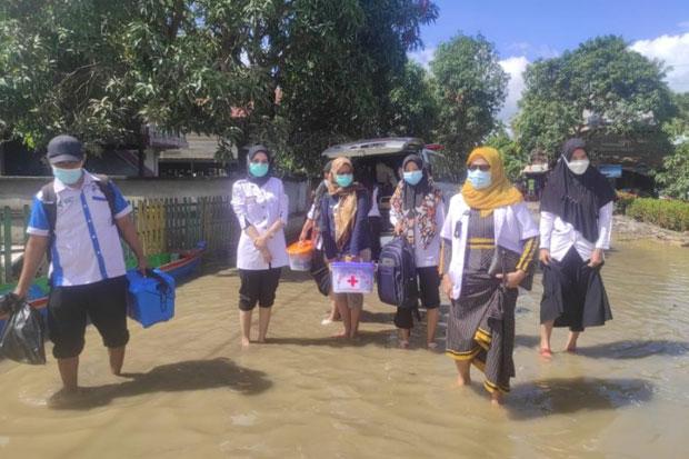 Dinas Kesehatan Wajo Masifkan Vaksinasi di Wilayah Banjir