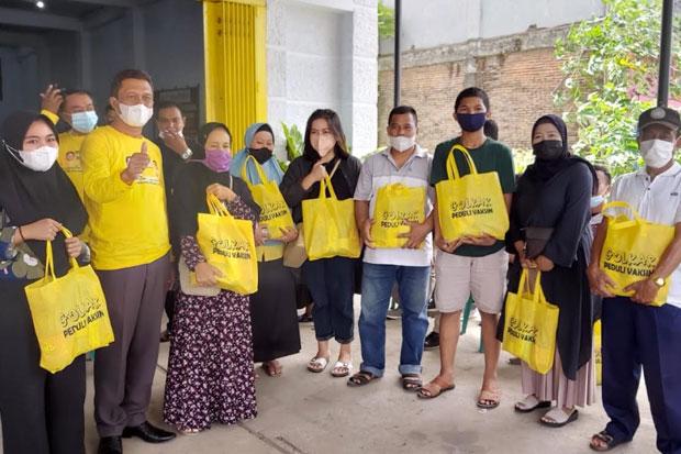 Golkar dan Polres Pangkep Gelar Vaksinasi Gratis untuk Warga
