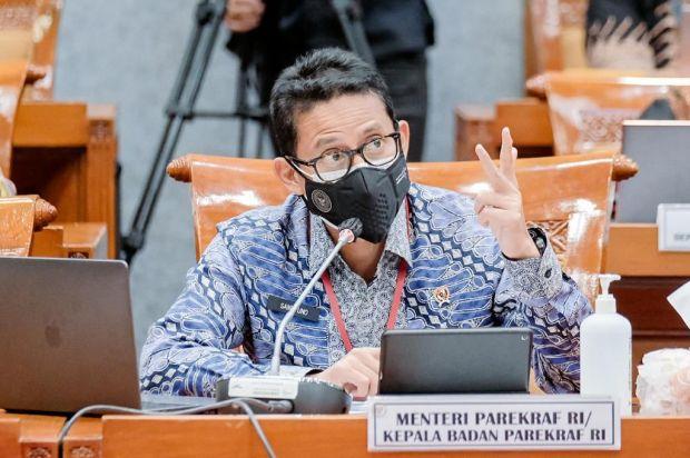 DPR Ketok Palu, Anggaran Kemenparekraf Disetujui Rp3,7 Triliun di 2022