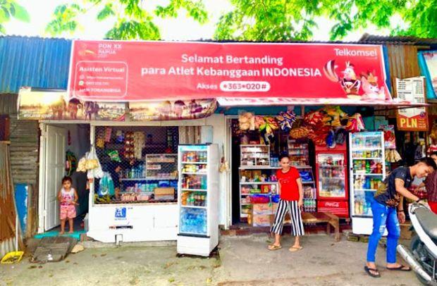 Telkomsel Jamin Kesiapan Jaringan Broadband dan Layanan Digital saat PON Papua