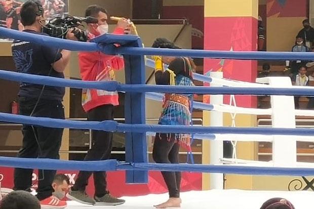Satu Atlet Muaythai Sulsel Tembus Babak Final PON Papua