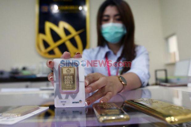 Penjualan Emas Moncer, Antam Cetak Laba Bersih Rp1,16 Triliun di Semester 1 2021
