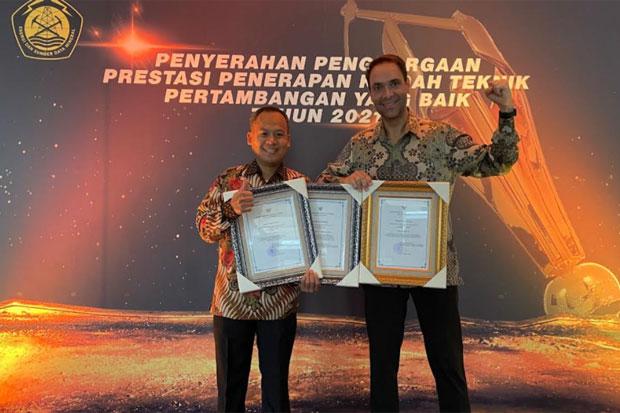 PT Vale Borong 3 Good Mining Practice Awards