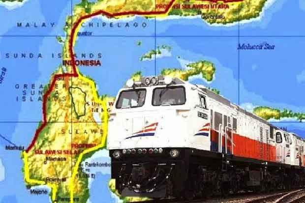 Makassar Mulai Petakan Jalur Rel Kereta Api Trans Sulawesi
