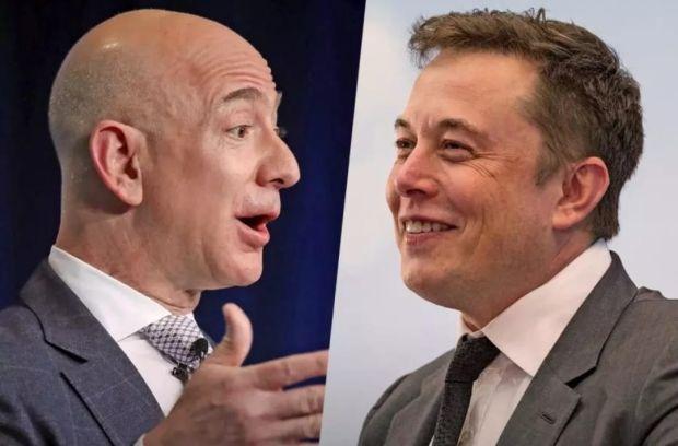 Elon Musk dan Jeff Bezos, Miliarder Paling Pelit Sedunia