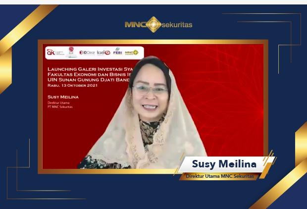 MNC Sekuritas Resmikan Galeri Investasi Syariah BEI FEBI UIN Sunan Gunung Djati Bandung
