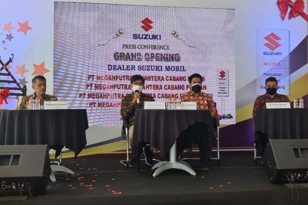 Suzuki Buka Empat Showroom di Tiga Provinsi