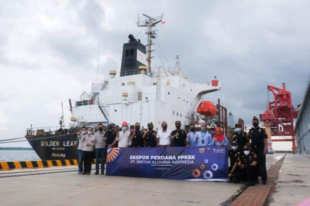 KEK Galang Batang Ekspor Perdana Rp110 Miliar dengan Dokumen PPKEK