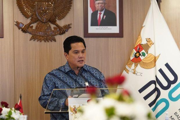 Menteri BUMN Erick Thohir Apresiasi Dukungan Presiden Jokowi Terkait Transformasi di BUMN
