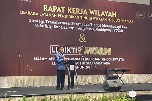 LLDikti Wilayah IX Dorong PTS Masuk Peringkat 100 Terbaik di Indonesia