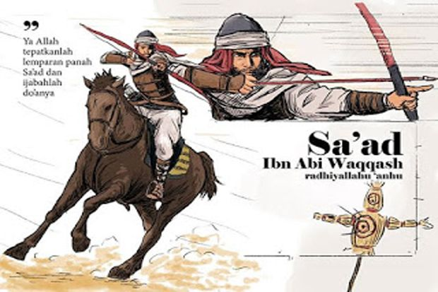 Karomah Saad Bin Abi Waqqash, Sahabat Pemilik Doa Mustajab (1)