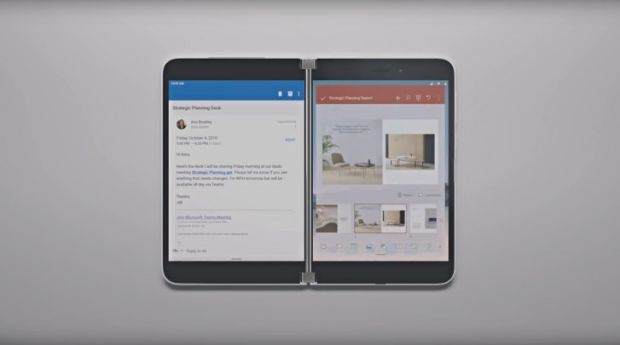 Challenge Galaxy wrinkles and Mate Xs, Microsoft Surface Duo Present More Quickly