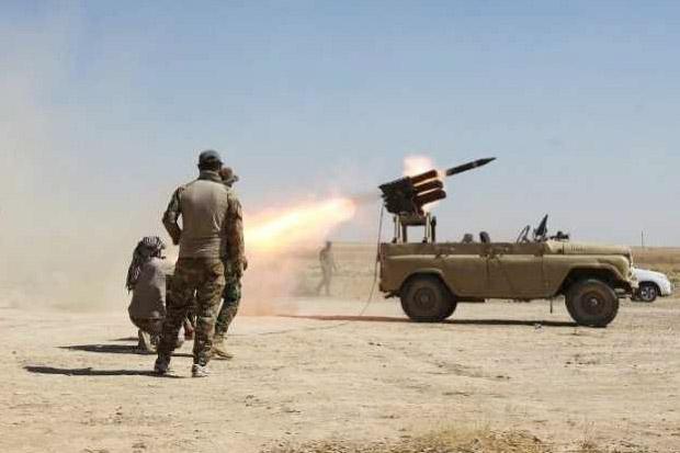 Serangan Roket Iran Hantam Pangkalan Udara AS di Baghdad