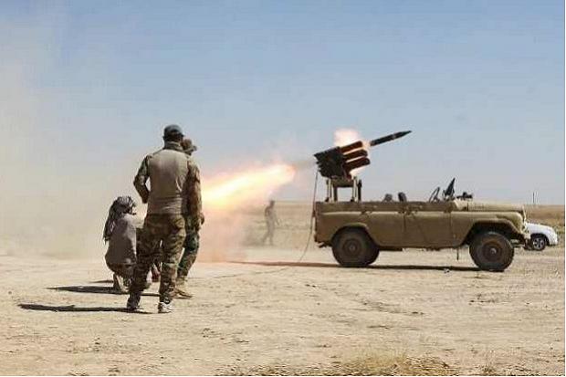 Serangan Roket Hantam Pangkalan Udara Amerika di Baghdad