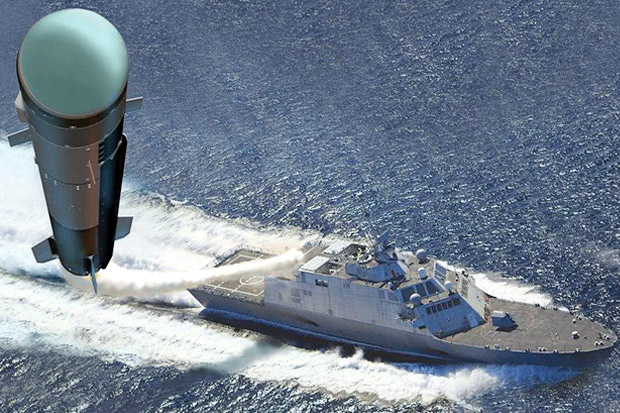 AS Bakal Lengkapi Kapal Perangnya dengan Rudal Jenis Baru