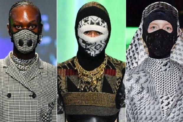 Paris Fashion Week Tak sengaja Pamerkan Desain Masker