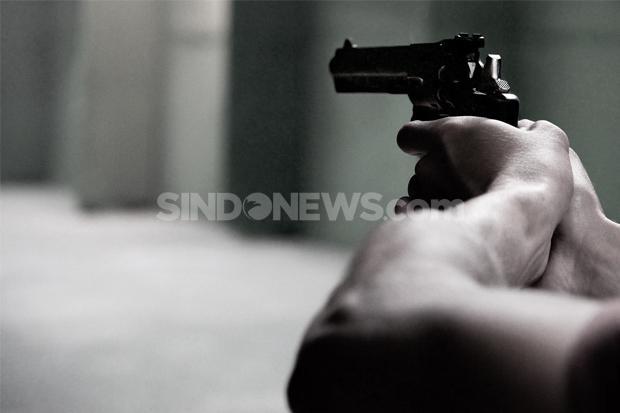 Melarikan Diri, Pencuri Ponsel Ditembak Satreskrim Polrestabes