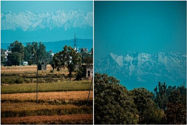 Pertama Kali dalam 30 Tahun, Corona Membuat Himalaya Terlihat dari India