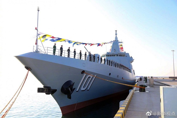 China Resmi Tugaskan Nanchang Kapal Perang Terbesar di Asia