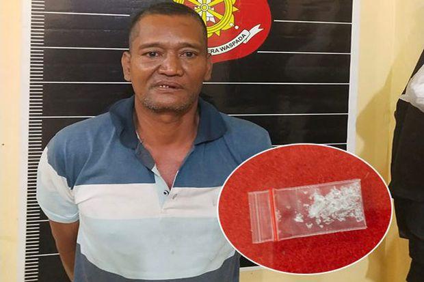 ABG Tua Dicokok Polisi Ketahuan Bawa Sabu