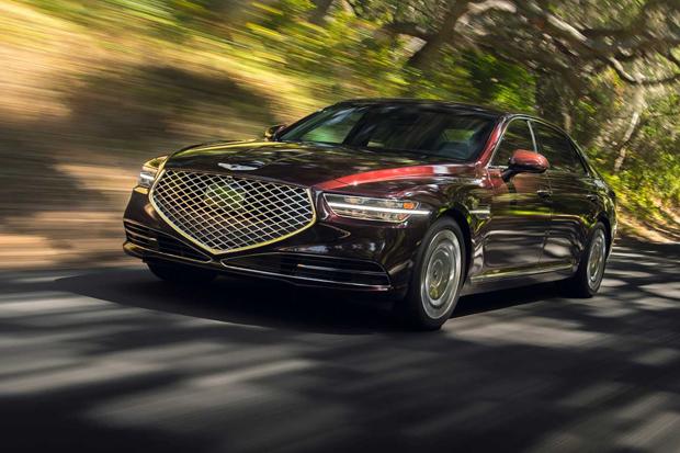 Bersaing di Pasar Sedan Premium, Hyundai Genesis G90 Diluncurkan