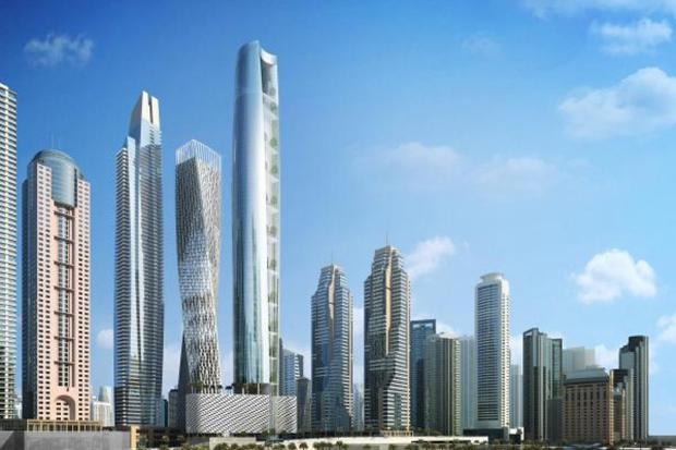 Ciel Tower, Hotel Tertinggi Hadir di Dubai Dibuka 2020