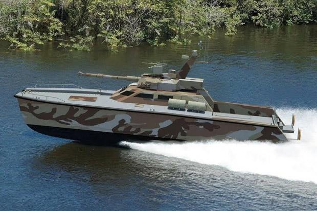 Rusia Pesan Tank Boat Amfibi Buatan Indonesia