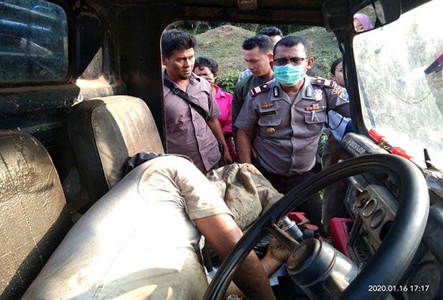 Safin Warga Batubara Ditemukan Tewas Saat Kendarai Mobil