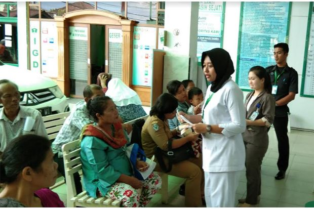 RSU Tiara Kasih Sejati Sosialisasi Pencegahan Virus Corona