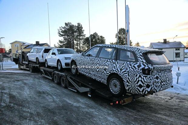 SUV Mewah Buatan Rusia Tertangkap Kamera saat Uji Coba di Swedia