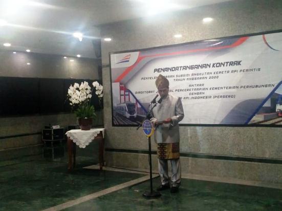 Lima Kereta Api Perintis Dapat Subsidi Rp159 Miliar