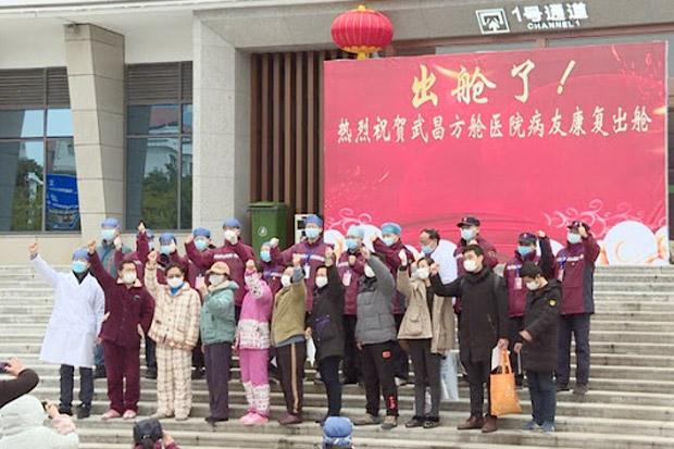 RS China Pulangkan 8.000 Lebih Pasien Virus Corona yang Sembuh